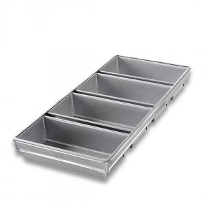 4-STRAP OPEN TOP BREAD PAN