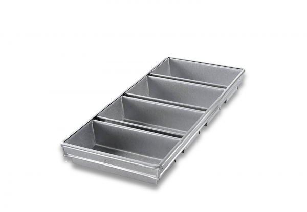 4-STRAP OPEN TOP BREAD PAN