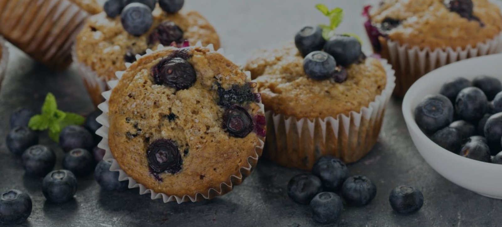 Blueberry muffins baked in a Chicago Metallic muffin pan